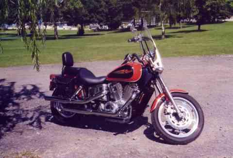 David Schryvers Former 1998 Honda Shadow Spirit