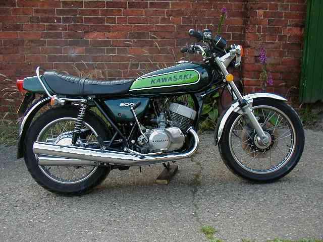 David Schryver's former 1973 Kawasaki Mach III